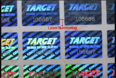 Laser Numbering Hologram Suppliers